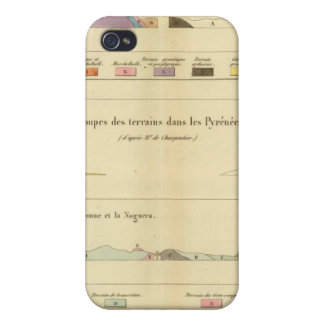 Geological between Paris and Colmar Cases For iPhone 4