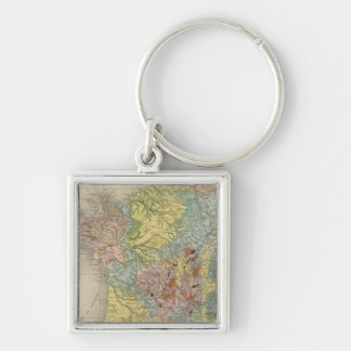 Geological France Keychain