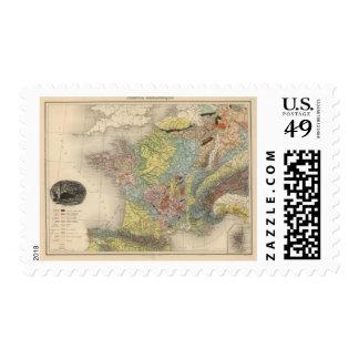 Geological France Postage Stamp