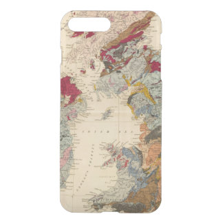 Geological map, British Isles iPhone 8 Plus/7 Plus Case