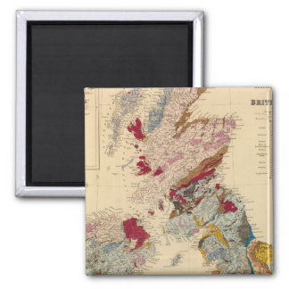 Geological map, British Isles Magnet