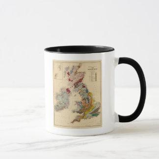 Geological map, British Isles Mug