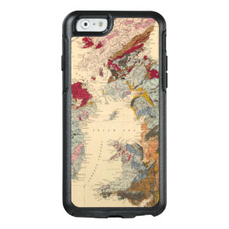 Geological map, British Isles OtterBox iPhone 6/6s Case