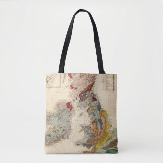 Geological map, British Isles Tote Bag