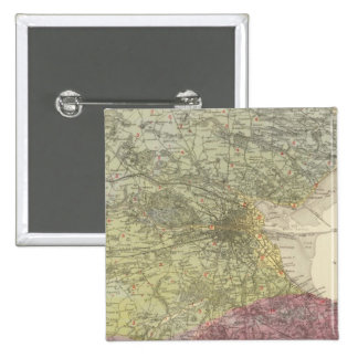 Geological map Dublin Pin