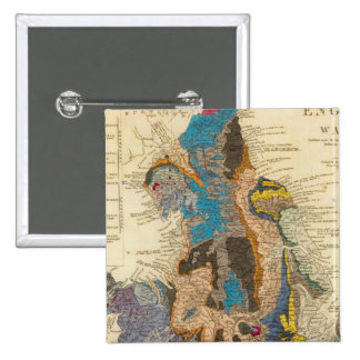 Geological map, England, Wales Button