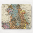 Geological map England, Wales Mouse Pad
