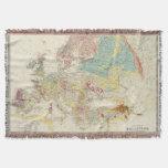 Geological map Europe Throw