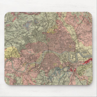 Geological map London Mouse Pad