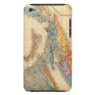Geological map, Maritime Provinces iPod Case-Mate Case