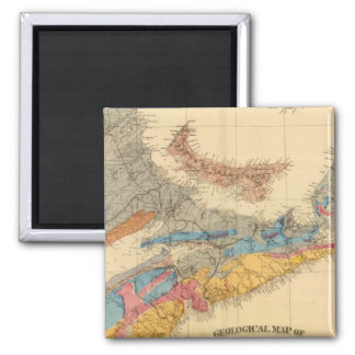 Geological map, Maritime Provinces Magnet