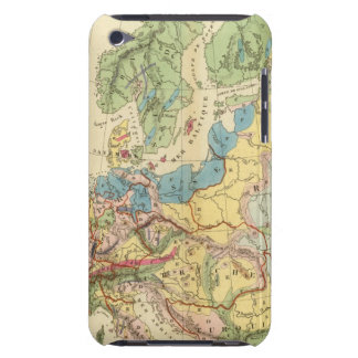 Geological Map of Europe iPod Touch Cover