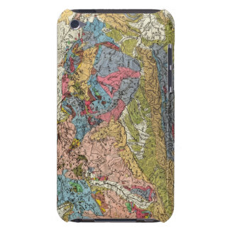 Geological map of Germany Barely There iPod Cover