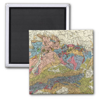 Geological map of Germany Magnet