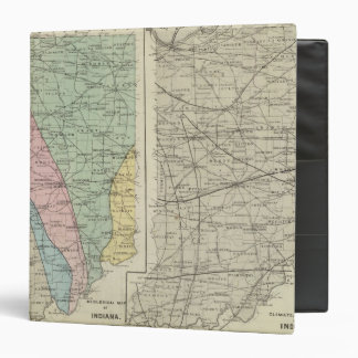 Geological map of Indiana Binder