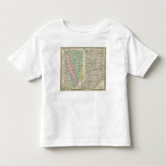 Geological map of Indiana T Shirt