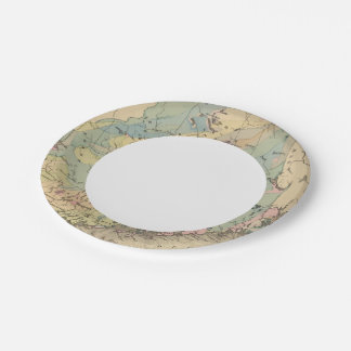 Geological map of Maine Paper Plate