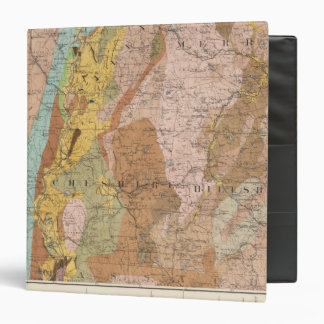 Geological Map of New Hampshire 2 3 Ring Binder