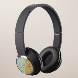 Geological Map of New Hampshire 2 Headphones