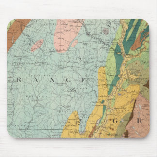 Geological Map of New Hampshire 2 Mouse Pad