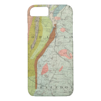 Geological Map of New Hampshire 3 iPhone 7 Case