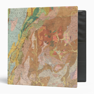 Geological Map of New Hampshire 3 Ring Binders
