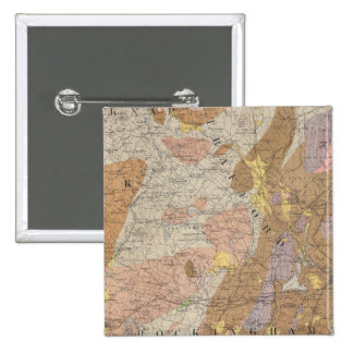 Geological Map of New Hampshire 4 2 Inch Square Button