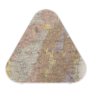 Geological Map of New Hampshire 4 Bluetooth Speaker