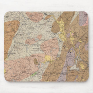 Geological Map of New Hampshire 4 Mouse Pad