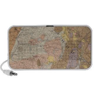 Geological Map of New Hampshire 4 Mini Speaker