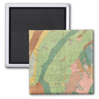 Geological Map of New Hampshire 5 Magnet
