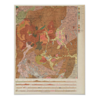 Geological Map of New Hampshire Print