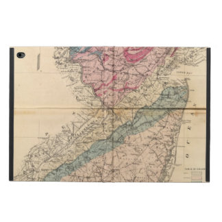 Geological map of New Jersey Powis iPad Air 2 Case