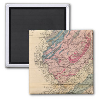 Geological map of New Jersey Magnet