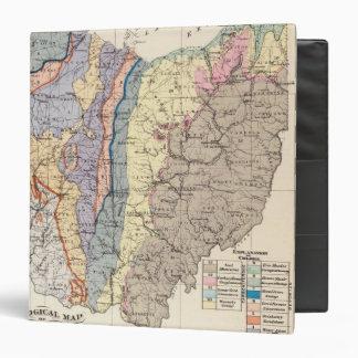 Geological map of Ohio Binder