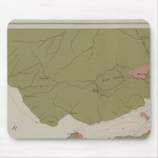Geological Map of the Clear Lake District Mouse Pads