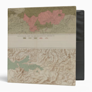 Geological Map of the Knoxville District Vinyl Binders