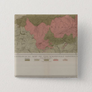 Geological Map of the Knoxville District Button