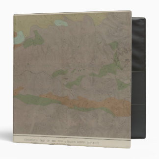 Geological Map of the New Almaden Mining District 3 Ring Binders