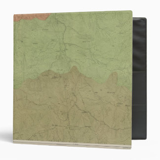 Geological Map of the New Idria District 3 Ring Binders