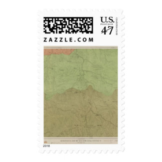 Geological Map of the New Idria District Postage