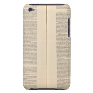 Geological Map of the North America iPod Touch Case-Mate Case