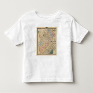 Geological map of the State of Iowa Tshirt