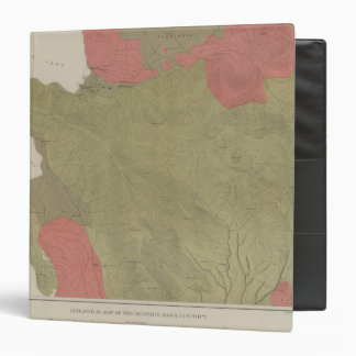 Geological Map of the Sulphur Bank District 3 Ring Binder