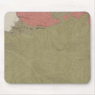 Geological Map of the Sulphur Bank District Mouse Pad