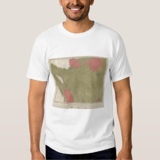 Geological Map of the Sulphur Bank District Tee Shirt