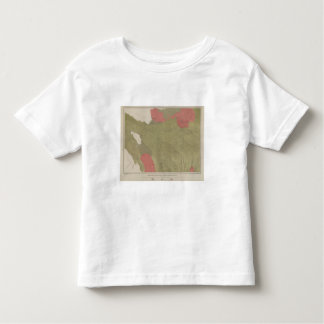 Geological Map of the Sulphur Bank District Toddler T-shirt