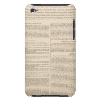 Geological Map of the United States 2 Barely There iPod Cover