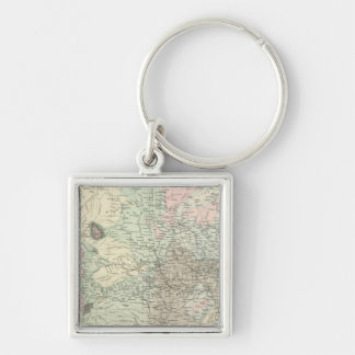 Geological Map of the United States Key Chain