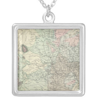 Geological Map of the United States Custom Necklace